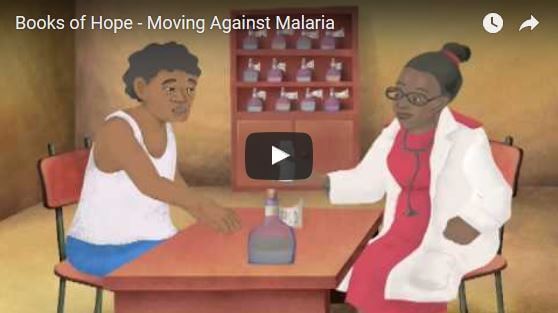 Speaking Books: Moving Against Malaria Video Thumbnail