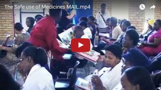 Speaking Books: The Safe Use of Medicines video thumbnail.