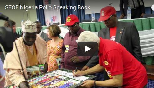 Speaking Books: Nigeria Polio Video Thumbnail