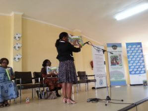 Speaking Books launch event.