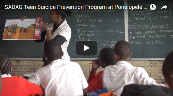 Speaking Books Teen Suicide Prevention Video Thumbnail